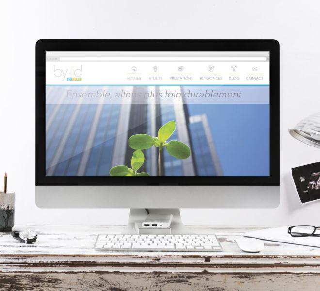 Conception du site internet responsive By ID par l'agence de communication La Stratégie Créative (Meaux 77)