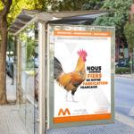 Travail sur la Campagne de com Mythiqs par l'agence de communication La Stratégie Créative (Meaux 77)