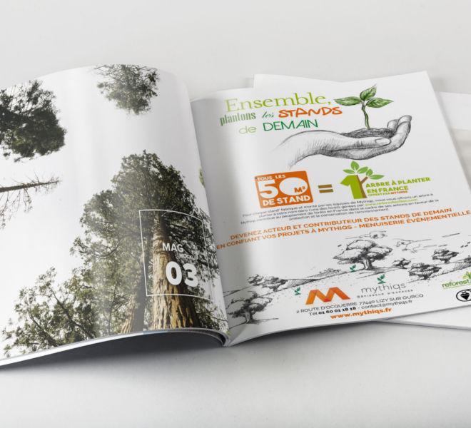 Création Campagne Publicitaire Mythiqs par l'agence de communication La Stratégie Créative (Meaux 77)