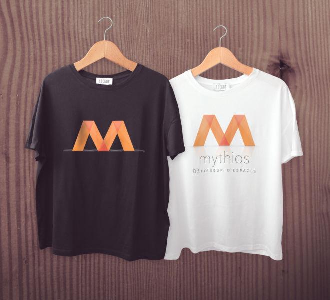 Personnalisation tee Shirt Mythiqs par l'agence de communication La Stratégie Créative (Meaux 77)