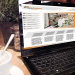 Conception site web para La stratégie Créative agence web 77
