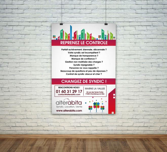 Conception Affiche publicitaire par agence de communication meaux 77