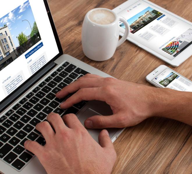 conception site internet par agence de communication Marne la vallée 77