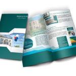 Conception plaquette programme immobilier par agence de communication Marne La vallée 77