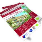 Conception flyers par agence de communication marne la vallée 77