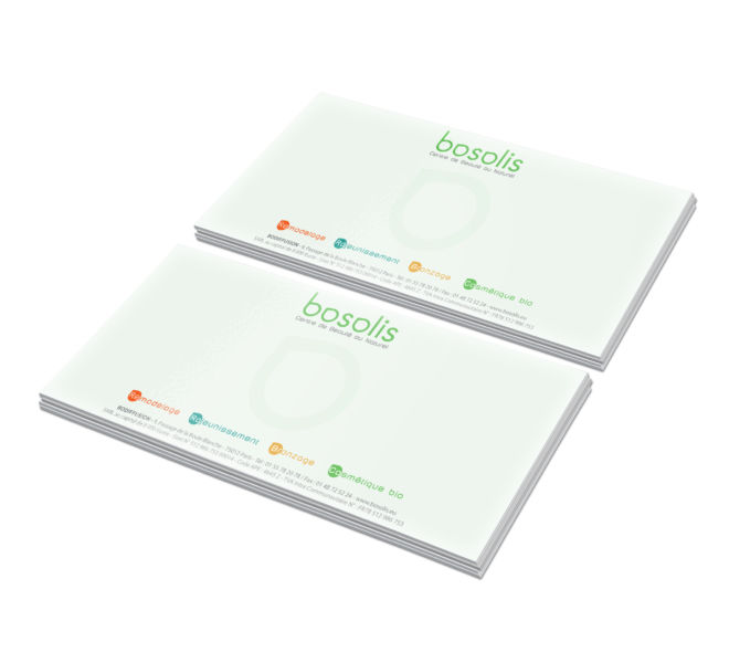 conception carte de correspondance par agence de communication meaux 77