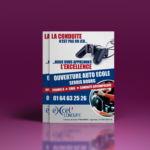 conception flyer auto ecole par agence de communication meaux 77