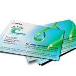 conception carte de visite nettoyage industriel par agence de communication meaux 77