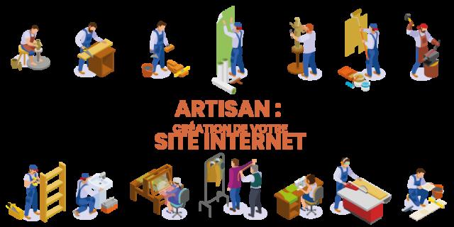creation site internet pour artisan
